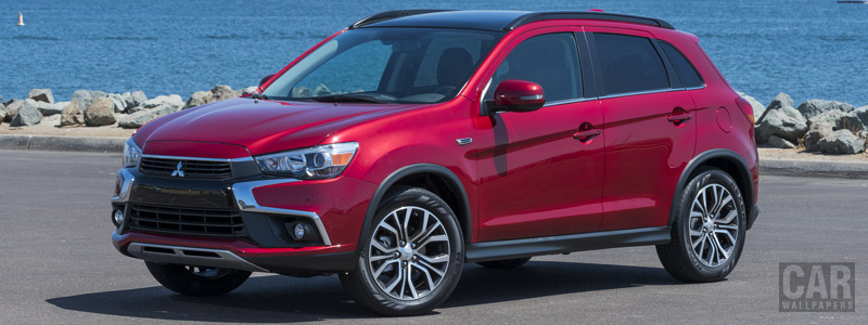 Cars wallpapers Mitsubishi Outlander Sport GT US-spec - 2016 - Car wallpapers