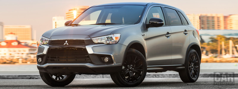 Cars wallpapers Mitsubishi Outlander Sport Limited Edition US-spec - 2017 - Car wallpapers