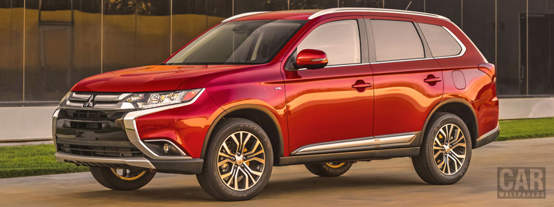 Cars wallpapers Mitsubishi Outlander GT US-spec - 2015 - Car wallpapers