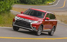 Cars wallpapers Mitsubishi Outlander SEL US-spec - 2015