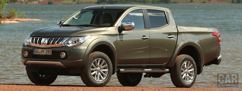 Cars wallpapers Mitsubishi L200 Double Cab - 2015 - Car wallpapers