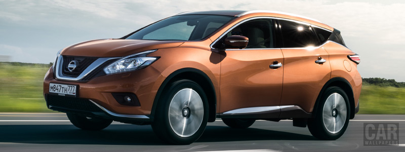 Cars wallpapers Nissan-Murano-RU-spec-2016 - Car wallpapers