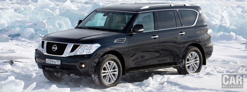 Cars wallpapers Nissan Patrol RU-spec - 2012 - Car wallpapers
