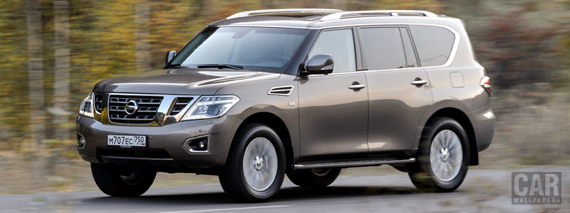 Cars wallpapers Nissan-Patrol-RU-spec-2014 - Car wallpapers