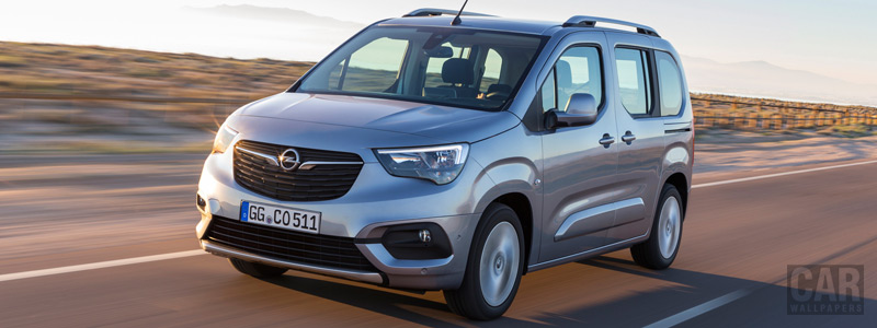 Cars wallpapers Opel Combo Life - 2018 - Car wallpapers