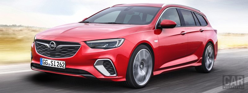 Cars wallpapers Opel Insignia Sports Tourer GSi - 2017 - Car wallpapers