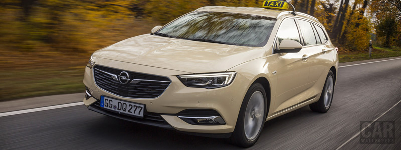 Cars wallpapers Opel Insignia Sports Tourer Taxi - 2017 - Car wallpapers