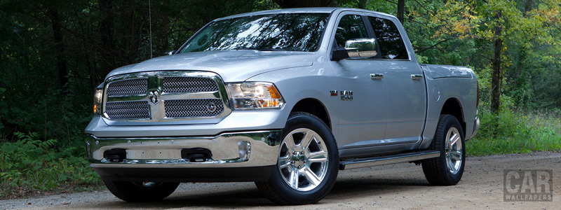 Cars wallpapers Ram 1500 Lone Star Silver Crew Cab - 2016 - Car wallpapers