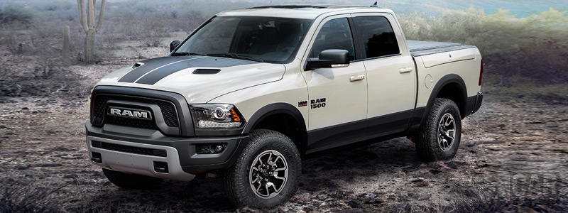 Cars wallpapers Ram 1500 Rebel Mojave Sand Crew Cab - 2016 - Car wallpapers