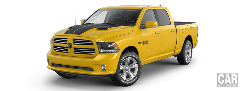 Cars wallpapers Ram 1500 Stinger Yellow Sport Crew Cab - 2016 - Car wallpapers
