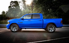 Cars wallpapers Ram 1500 Hydro Blue Sport Crew Cab - 2017