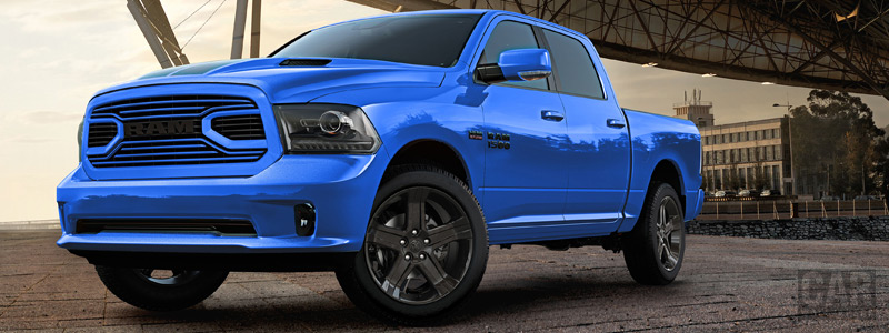 Cars wallpapers Ram 1500 Hydro Blue Sport Crew Cab - 2017 - Car wallpapers
