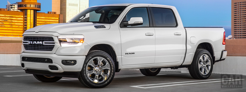 Cars wallpapers Ram 1500 Big Horn Crew Cab Sport Appearance Package - 2018 - Car wallpapers