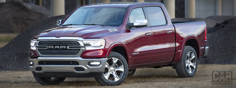 Cars wallpapers Ram 1500 Laramie Crew Cab - 2018 - Car wallpapers