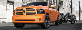 Ram 1500 Sport Ignition Orange Crew Cab - 2016