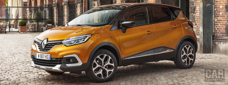 Cars wallpapers Renault Captur - 2017 - Car wallpapers