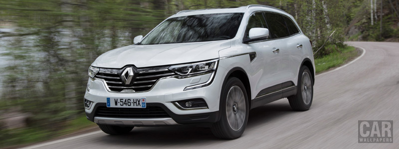 Cars wallpapers Renault Koleos Initiale Paris - 2017 - Car wallpapers