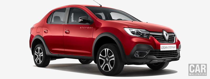 Cars wallpapers Renault Logan Stepway City - 2018 - Car wallpapers