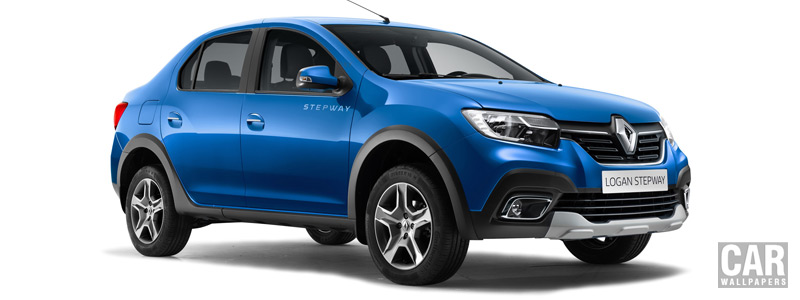 Cars wallpapers Renault Logan Stepway - 2018 - Car wallpapers
