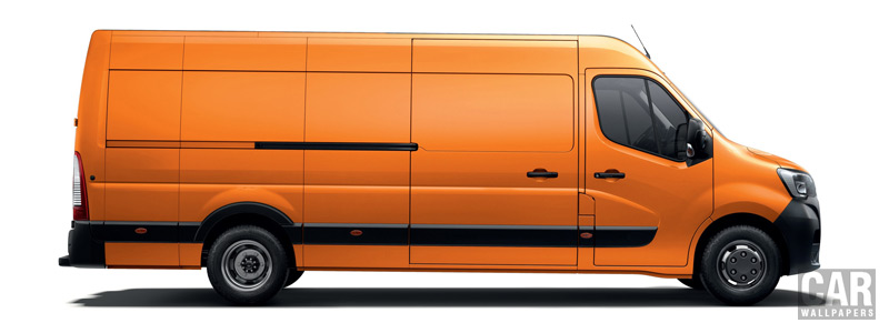 Cars desktop wallpapers Renault Master L4H2 Van - 2019 - Car wallpapers