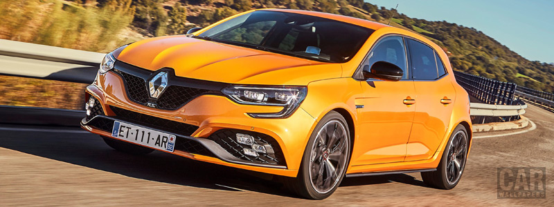 Cars wallpapers Renault Megane R.S. Sport chassis - 2018 - Car wallpapers
