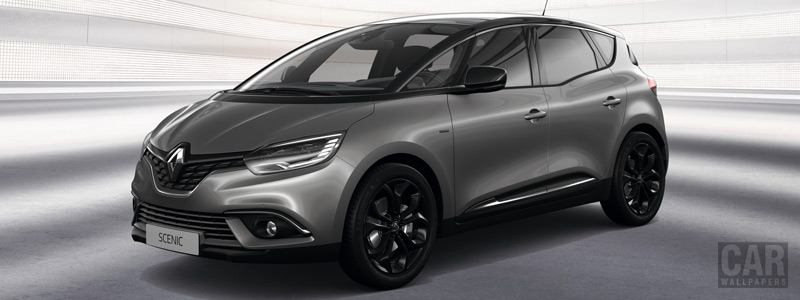 Cars desktop wallpapers Renault Scenic Black Edition - 2019 - Car wallpapers