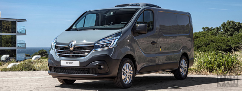 Cars desktop wallpapers Renault Trafic Refrigerated Van - 2019 - Car wallpapers