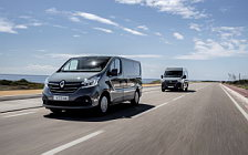 Cars desktop wallpapers Renault Trafic Van - 2019