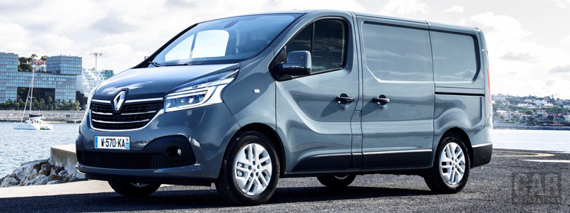 Cars desktop wallpapers Renault Trafic Van - 2019 - Car wallpapers