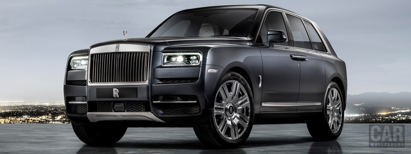 Cars wallpapers Rolls-Royce Cullinan - 2018 - Car wallpapers