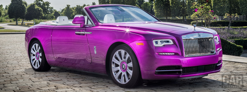 Cars wallpapers Rolls-Royce Dawn in Fuxia - 2017 - Car wallpapers