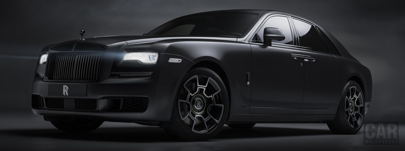 Cars wallpapers Rolls-Royce Ghost Black Badge - 2019 - Car wallpapers