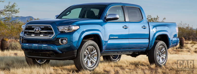 Cars wallpapers Toyota Tacoma Limited Double Cab - 2015 - Car wallpapers