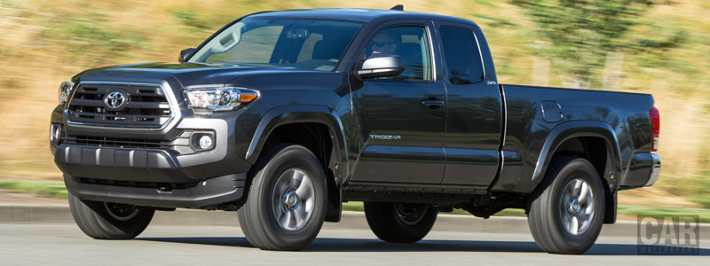 Cars wallpapers Toyota Tacoma SR5 Access Cab - 2015 - Car wallpapers