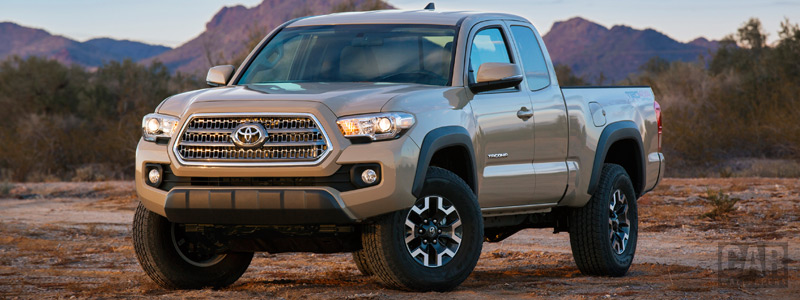 Cars wallpapers Toyota Tacoma TRD Off-Road Access Cab - 2015 - Car wallpapers