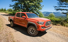 Cars wallpapers Toyota Tacoma TRD Off-Road Double Cab - 2015