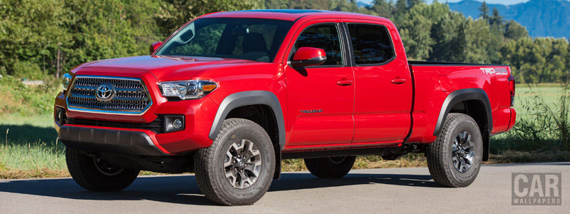Cars wallpapers Toyota Tacoma TRD Off-Road Double Cab - 2015 - Car wallpapers