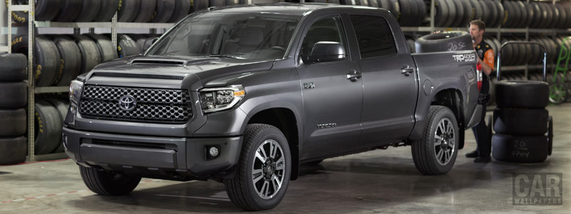 Cars wallpapers Toyota Tundra TRD Sport CrewMax Cab - 2017 - Car wallpapers
