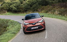 Cars wallpapers Toyota C-HR Hybrid (Orange) - 2019