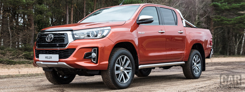 Cars wallpapers Toyota Hilux 4x4 Special Edition Double Cab - 2018 - Car wallpapers