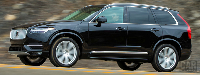 Cars wallpapers Volvo XC90 T6 Inscription US-spec - 2015 - Car wallpapers