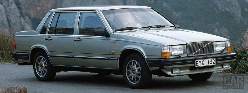 Cars wallpapers Volvo 760 GLE - 1983 - Car wallpapers