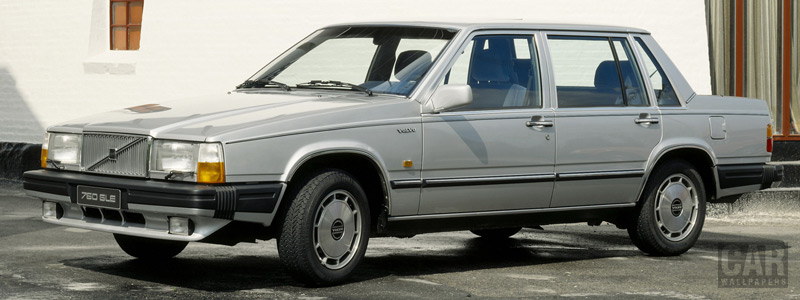 Cars wallpapers Volvo 760 GLE - 1986 - Car wallpapers