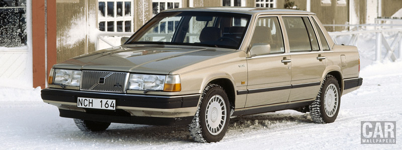 Cars wallpapers Volvo 760 GLE - 1989 - Car wallpapers