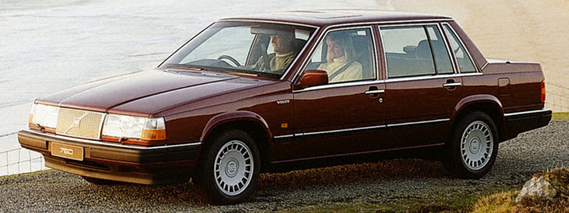 Cars wallpapers Volvo 760 GLE - 1990 - Car wallpapers