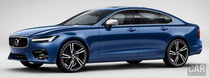 Cars wallpapers Volvo S90 T6 R-Design - 2016 - Car wallpapers