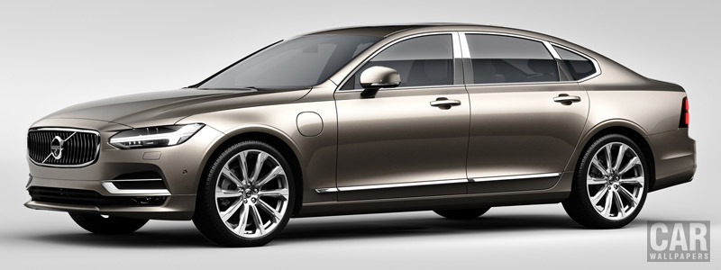 Cars wallpapers Volvo S90 Excellence T8 - 2017 - Car wallpapers