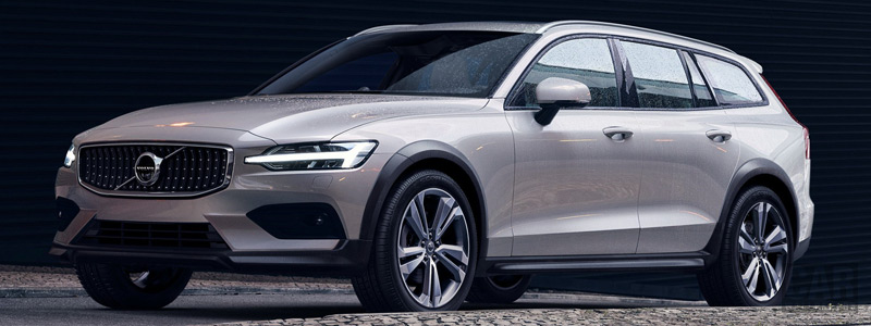 Cars wallpapers Volvo V60 T5 Cross Country - 2018 - Car wallpapers