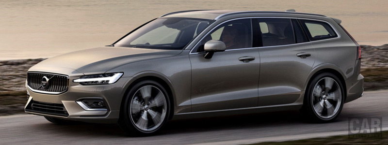 Cars wallpapers Volvo V60 T6 AWD Inscription - 2018 - Car wallpapers