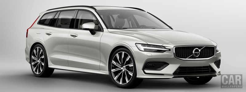 Cars wallpapers Volvo V60 T6 AWD Momentum - 2018 - Car wallpapers